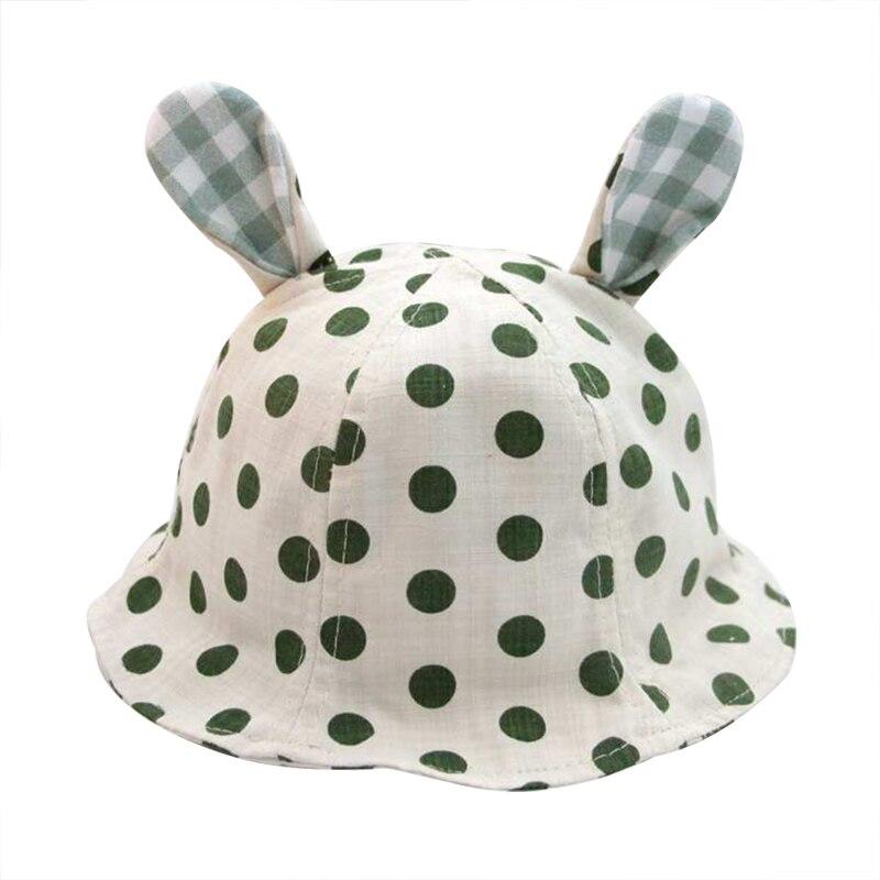 Nieuwe dot panama hoed baby katoen linnen zomer kinderen cap voor - Babykleding - Foto 2