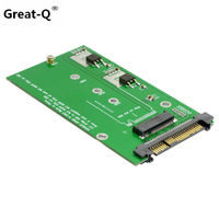 Great Q NVMe PCI E SSD To M 2 NGFF M Key SSD Converter Adapter Card