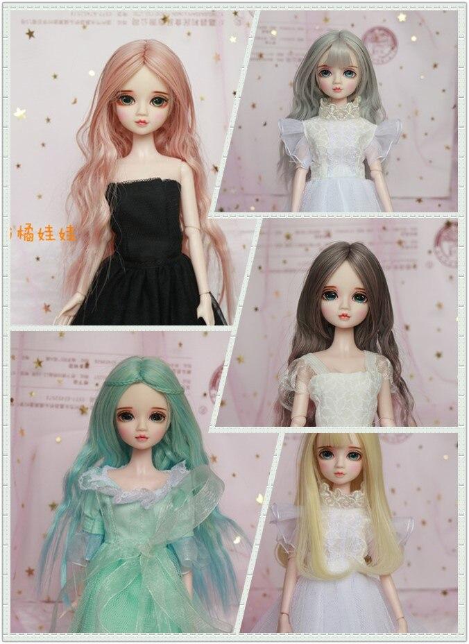 1/6 30 cm BJD Doll wspólne ciało, co zrobić, jeśli ręcznie piękne oczy moda lalki dla dziewczyny blyth doll w Lalki od Zabawki i hobby na  Grupa 1