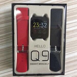 Image 5 - Умные часы Q9 с монитором кровяного давления, пульсометром, IP67, водонепроницаемые, спортивные, фитнес часы, мужские и женские умные часы, Прямая поставка