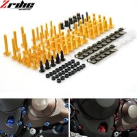 For Yamaha YZF R6 TMAX 500 2004 2005 2006 2007 2008 2009 2010 2011 YZFR6 Universal Motorcycle Fairing Body Bolts Spire Screw Nut