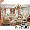 Luxury Morder Sofa Set 1 2 3 From PROCARE Foshan Free Shipping Cost To Some Destination