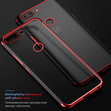 For Oneplus 7 Pro Case Soft TPU Plating Phone Bumper Phone Case For Oneplus 6T 5T 5 6 T Oneplus6 One Plus 6 7 5 1+7 Back Cover