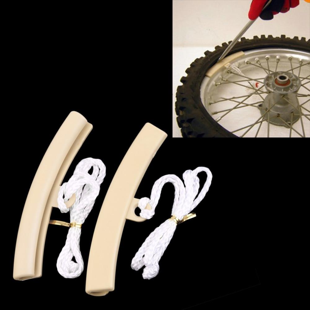 2pcs Motorcycle Motorbike Saver Changing Tire Wheel Rim Edge Protectors For Suzuki Honda Yamaha Portable