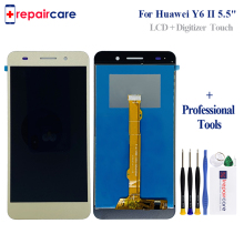 5.5 For Huawei Y6II Y6 II CAM-L23 CAM-L03 CAM-L21 CAM-AL00 Full LCD DIsplay + Touch Screen Digitizer Assembly Frame Cover