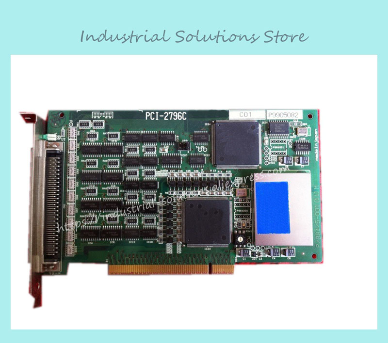 Interface PCI-2796C industrial motherboard 100% tested perfect quality industrial floor picmg1 0 13 slot pca 6113p4r 0c2e 610 computer case 100% tested perfect quality