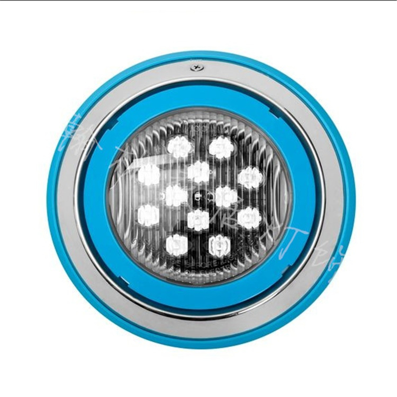 12VAC IP68 Swimming pool/SPA par56 wall mounted Stainless steel 230mm 6W/9W/12W ,Pool light ,45degree lens led underwater lamp iso sound auditory mediation model acoustoelectric control human hearing model