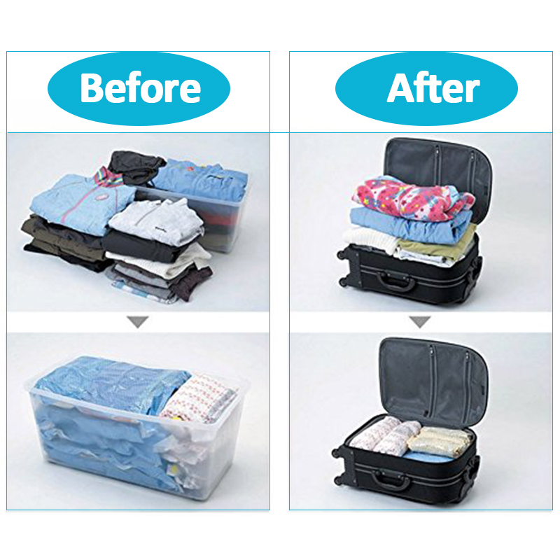 Jeebel Vacuum Bags Hand Scroll Compressed E Saving Bag Swim Clothes Luggage Travel Kit Suitcase In Outdoor Tools From Sports Entertainment On