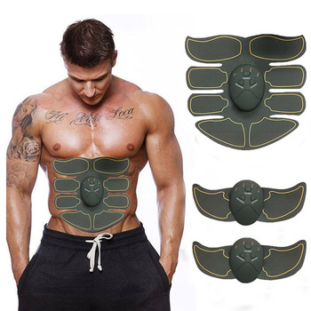 Dropshipping Muscle Stimulator Smart EMS Electric Pulse Treatment Massager Abdominal Muscle Trainer Wireless Body Massager Message & Relaxation