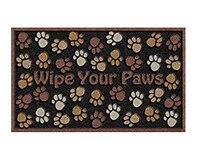 Wipe Your Paws Doormat Non Slip Machine Washable Outdoor Indoor Entrance Rug Mat