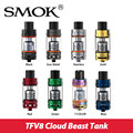 Original Smok TFV8 Atomizer Cloud Beast Tank 5.5ml/6ml Adjustable Airflow w/ TFV8-T8 v8-Q4 Coil Turbo RBA Head