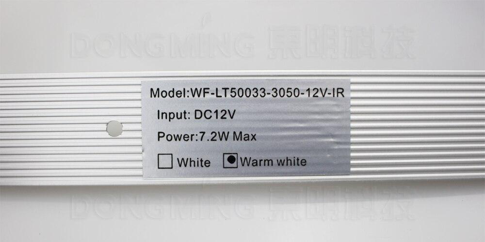 СИД сенсор шам 50см DC12V 30Leds 5050 ИК-мұқият - LED Жарықтандыру - фото 5
