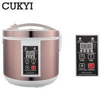 CUKYI Black Garlic Fermenter Full Automatic Intelligent Control Garlics Maker Smart Multiple Clove Garlic DIY Cooker 110V / 220V