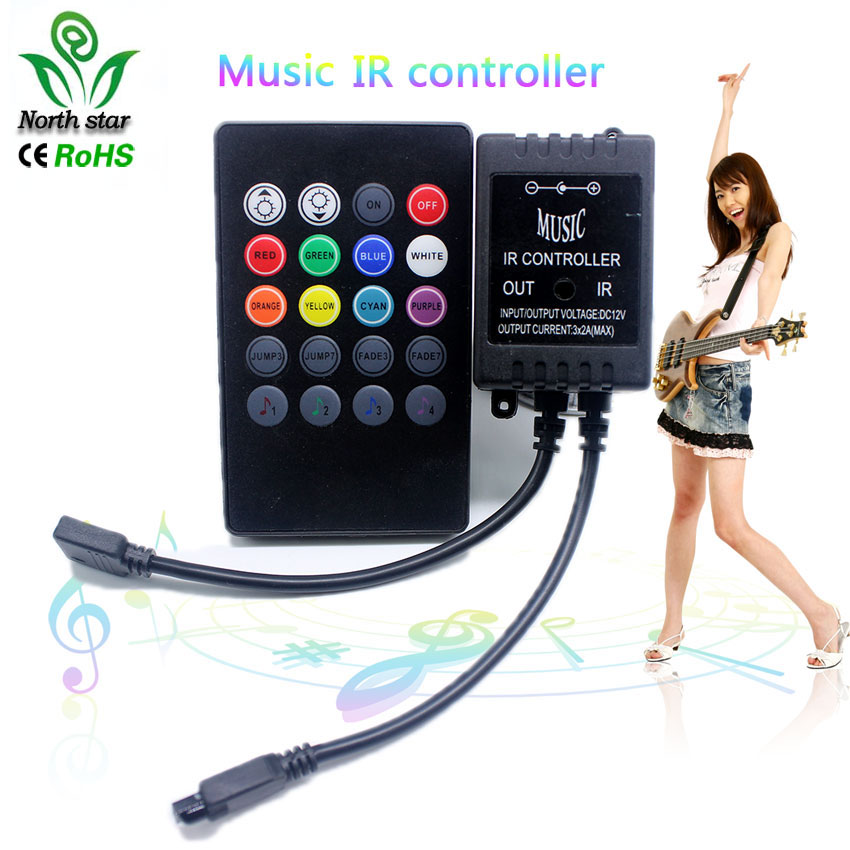 top 8 most popular led with music controller list and get