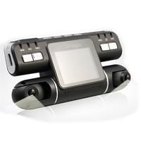 Car DVR Canmera Dual Lens Video Recorder Full HD 720P 2 0 Inch LCD G Sensor