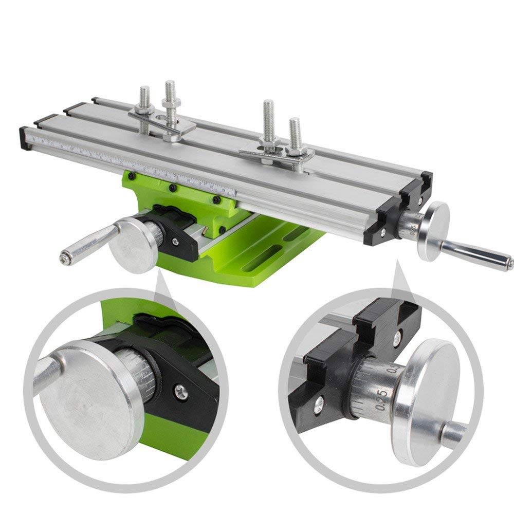 2018 Новый мини-многоцелевой миниатюрный прецизионный стол скамейка тиски скамейка сверлильный станок крест-помощь позиционный инструмент