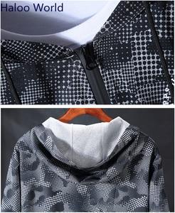 Image 4 - Haloo World Plus 10XL 9XL 8XL 2018 Fashion Men Brand Hip Hop camouflage Men Sweatshirt  Hoodie Jackets Mens Hoodies Men