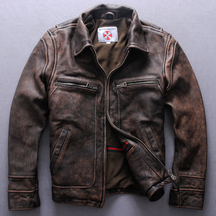 Retro Leather Jackets For Men - Jacket