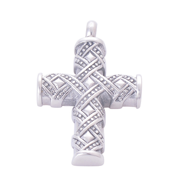 Cross Shaped Cremation Pendant