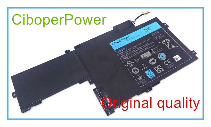 Фотография Original Laptop Battery for  14 7000 Ins14HD-1608T 5KG27 11.1V 58WH Free Shipping