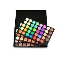 Tự Nhiên chuyên nghiệp 120 Màu Siêu Light Eye Shadow Palette Mỹ Phẩm Trang Điểm Pallete Beauty Make Up Tool Phấn Mắt Set