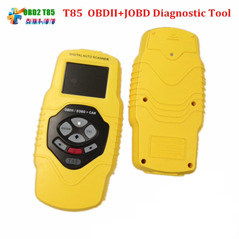 T 85 Diagnostic Scan Tool QUICKLYNKS T85 OBDII/EOBD/JOBD Auto Scanner free shipping support series brands motorcycle scanner motorbike diagnostic repair scan tool rmt 7in1 motorcycle accessories
