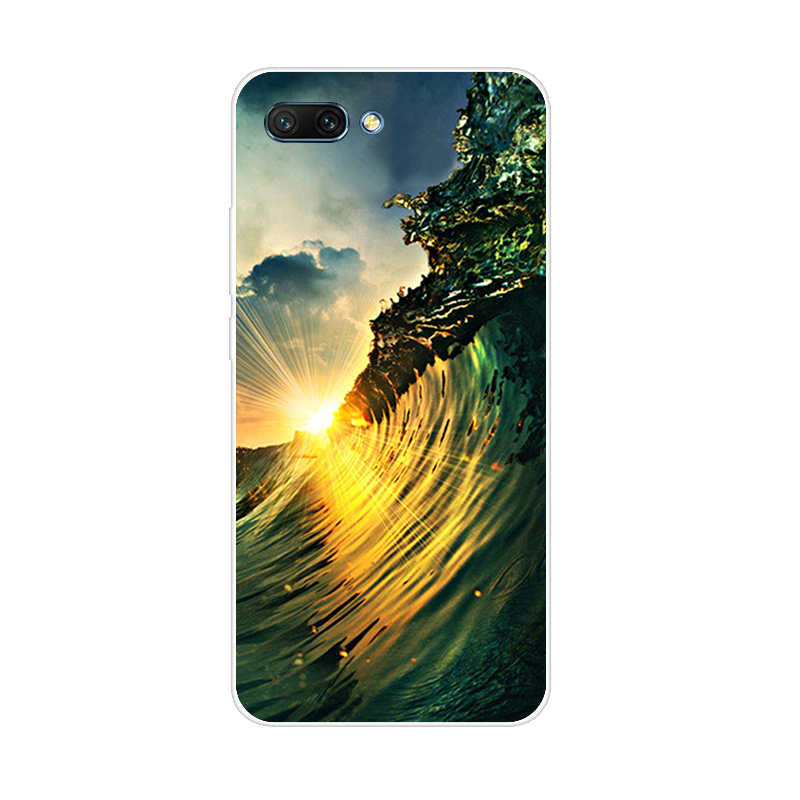 For Huawei Honor 10 Case Silicone Cover 5 84 quot Soft Tpu Cartoon Case For Honor 10 Coque Bumper Funda Capa On Honor 10 Phone Cases in Fitted Cases from Cellphones amp Telecommunications