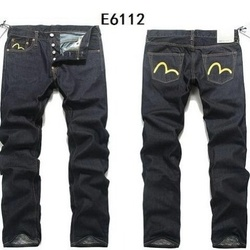 2020 Evisu Nieuwe Casual mannen Ademend Hoge Kwaliteit Mode Broek Warme mannen Knop Solid Jeans Straight Print Mannen's Broek