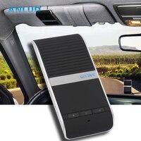 Sunvisor Không Dây Bluetooth Handsfree Car Kit Loa Audio Music Loa Transmitter Cho iPhone Samsung Xiaomi Điện Thoại Thông Minh