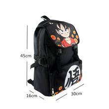Dragon Ball Z Naruto Tokyo Ghoul Nylon Waterproof Backpack