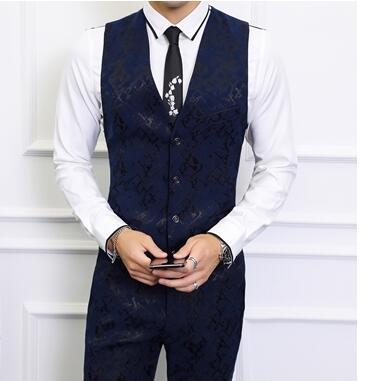 Fit Manches Nouvelle Costume 2018 Veste Slim Mode as Picture Arrivée As Formelle Masculin Casual Homme Hommes D'affaires Picture Gilet Gilets Sans YOOBwq