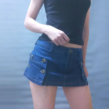 Sexy Women Package Hip Micro MINI Skirt Open High Cut Tight Pencil Cute Skirt Skirt Night Club Skirt Fantasy Erotic Wear F55