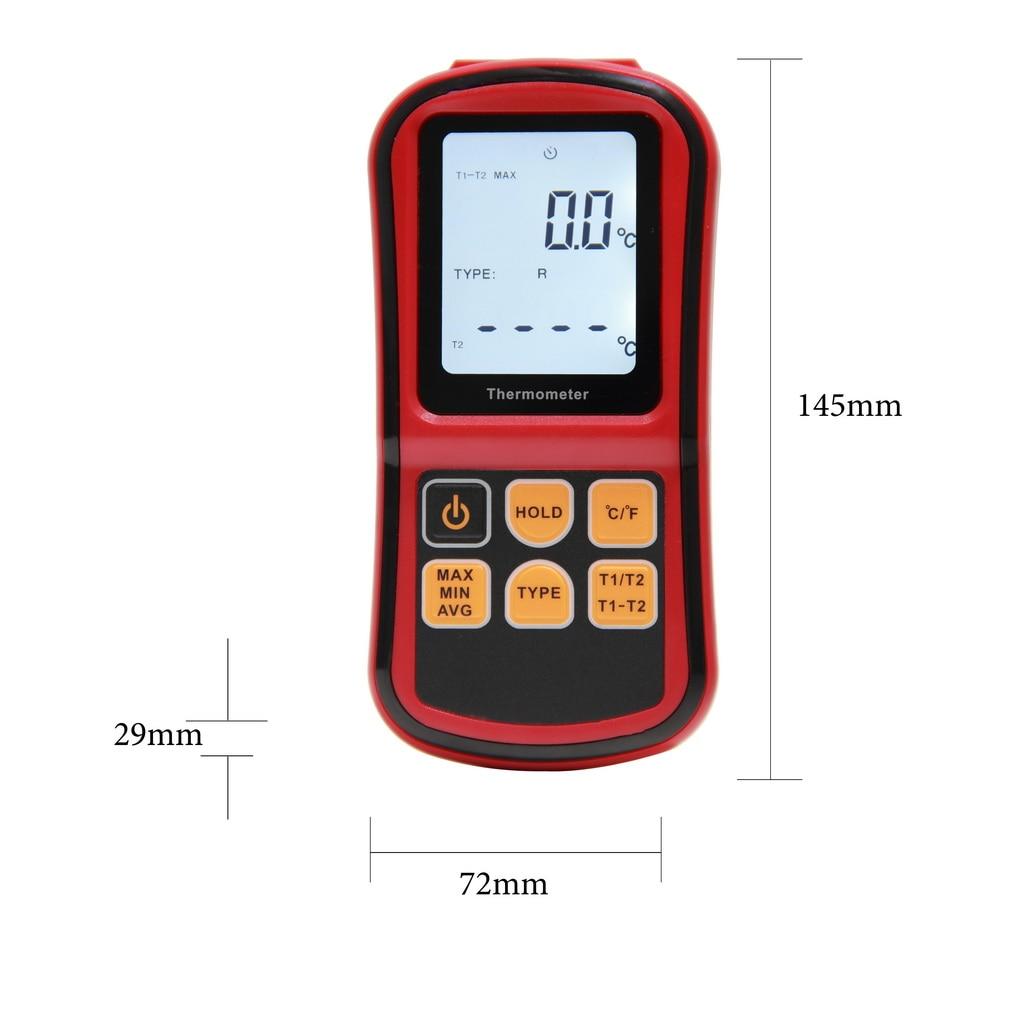 1 Pc Thermoelement Thermometer Messen Die Thermoelement Von J, K, T, E, N Und R Typ-50 ~ 300c (gm1312) Marke Neue