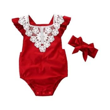 a9d93fcfd Body de bebé niña ropa de bebé traje de princesa Braga ropa de fiesta ropa  de bebé mono de regalo + diadema