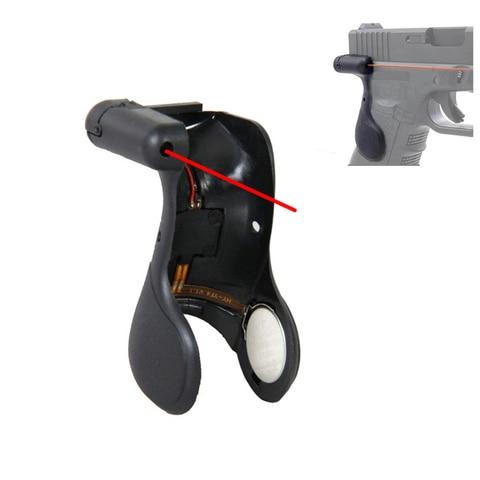 tatico ponteiro laser vista red dot aperto para glock 17 militar do exercito airsoft pistola