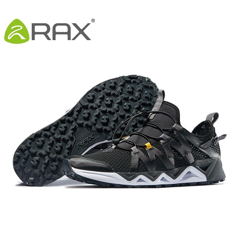 Rax chaussures de Trekking pour hommes chaussures de randonnée chaussures de marche de montagne pour hommes femmes chaussures de randonnée chaussures de sport d'escalade respirantes - 3