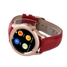 NO 1 D2 Diamond 1 22 Bluetooth Smart Watch MTK2502 For iOS Android Smartwatch Heart Rate