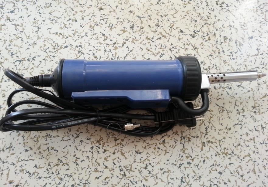 NEW 220V 30W 50Hz Electric Vacuum Solder Sucker Desoldering Pump Iron Gun [randomtext category=