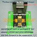 CH-QFP80-0.5 Программист Адаптер IC51-0804-808 TQFP80 QFP80 14x14 12x12 Адаптер Адаптер/IC SOCKET (Флип тест сиденья)