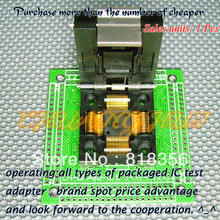 CH-QFP80-0.5 Programmer Adapter TQFP80 QFP80 14x14 12x12 IC51-0804-808 Adapter/IC SOCKET(Flip test seat)