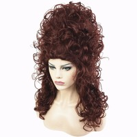 StrongBeauty Marie antoinette Wig Auburn Witch Beehive Cosplay Wigs Synthetic