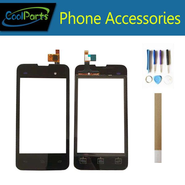 1PC/Lot High Quality For Micromax Bolt D306 Touch Screen Digitizer Touch Panel Lens Glass Black Color With Tape&Tool