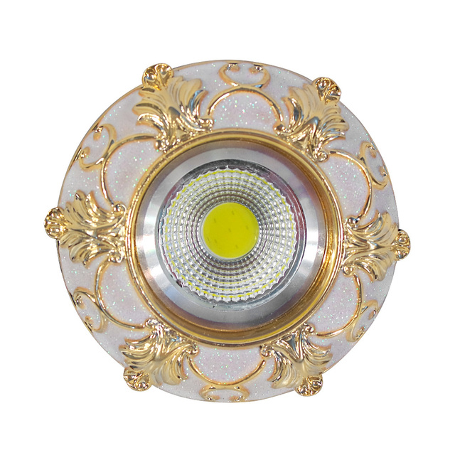 Elegant 4 Teile/los Neue AC110V220V 3 Watt LED Spot Licht Dekoration Decke Unten Lampe  Beleuchtung