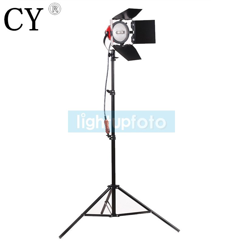 Fast delivery photographic equipment photo studio kit 800w Red Head Studio Continuous Light kit with Light Stand + Bulb PSK10