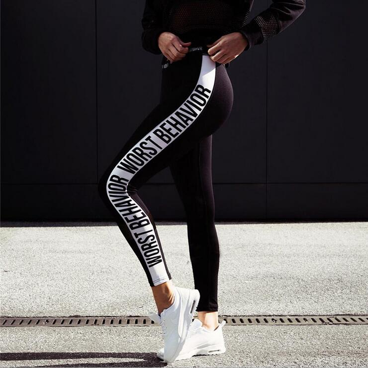 KEENEST Women Yoga Pants Tight Leggings Sport Tights Running Pants Women GYM Fitness Leggings Workout Pants