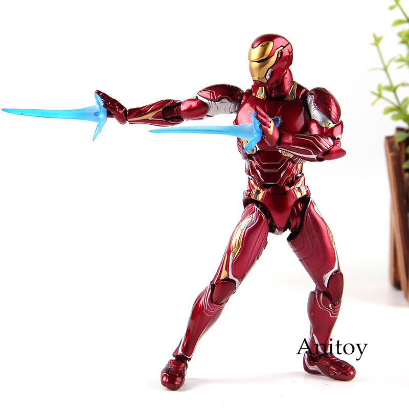 Figuarts SHF Iron Man MK50 Ironman Mark 50 Marvel Avengers Infinity War Action Figures PVC Collection Model Toys цены онлайн