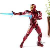 Figuarts SHF Iron Man MK50 Ironman Mark 50 Marvel Avengers Infinity War Action Figures PVC Collection Model Toys