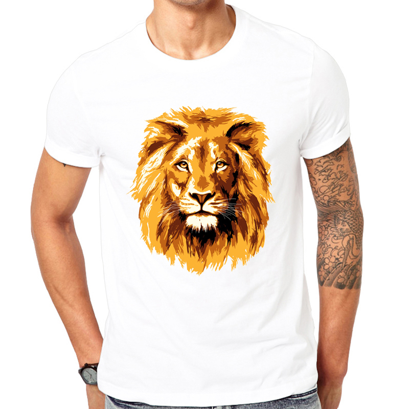 Men S 2019 New And Interesting Fashion Design Watercolor Animal T Shirt Boy Cool Tops Hipster Printed Summer T Shirt Designer T Shirt Fashion T Shirtt Shirt Design Aliexpress