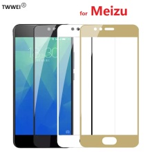 Full Cover Protective Glass Film for Meizu M3 M5 M6 Note Glass Screen Protector for Meizu 16 15 Plus Pro 7 U10 U20 M5s M6s Glass купить недорого в Москве