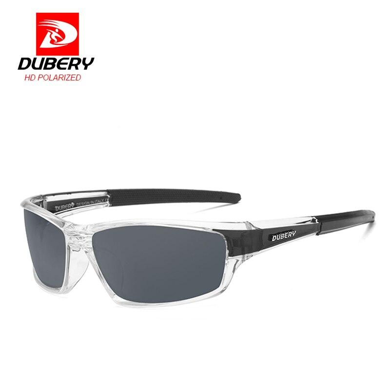 DUBERY Sonnenbrille männer Polarisierte Fahren Sport Sonnenbrille Für Männer Frauen UV400 Goggle Spiegel Luxus Marke Designer Oculos